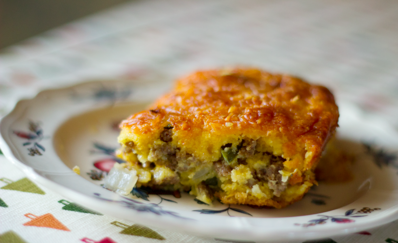 Mexican Cornbread With Ground Beef Gluten Free Mexican Co...